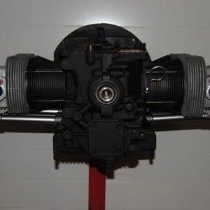 1300 cc dubbelpoorts motorblok gereviseerd